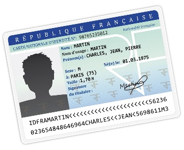 Nouvelles dispositions pour les cartes d'identités