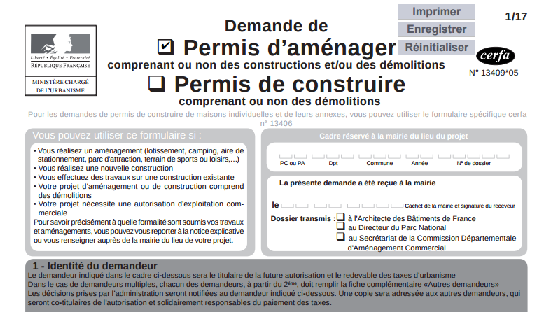 Demande de permis construire modificatif maison for Cerfa pc modificatif